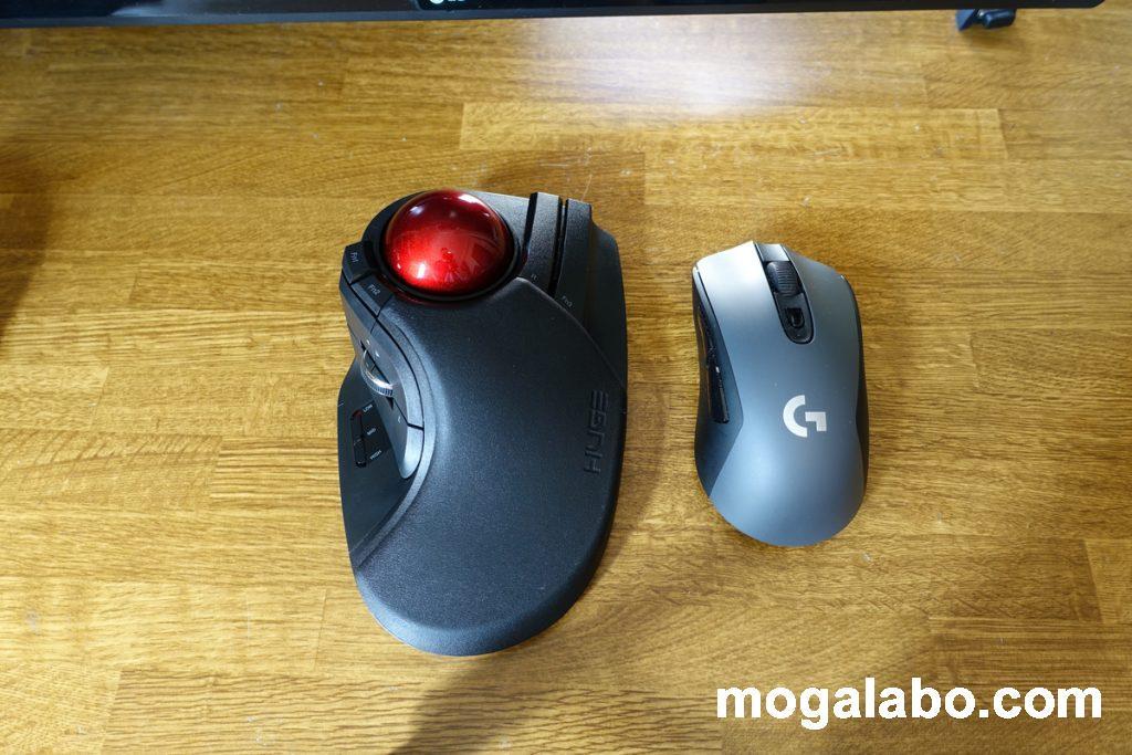 他のマウスと比較