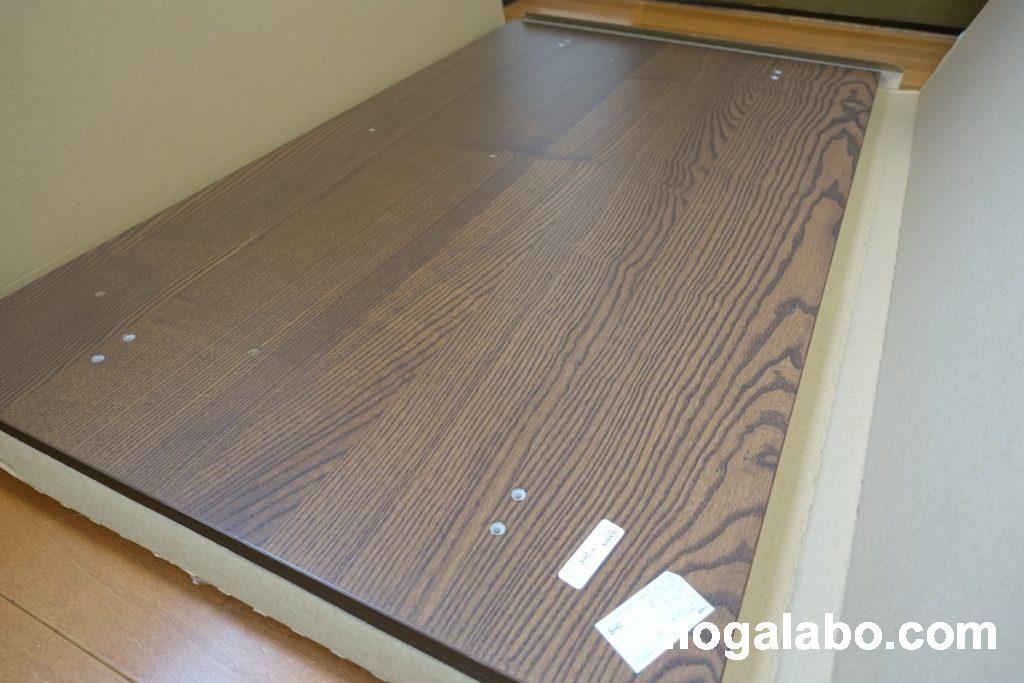 天板のサイズは120×70cm、160×80cm