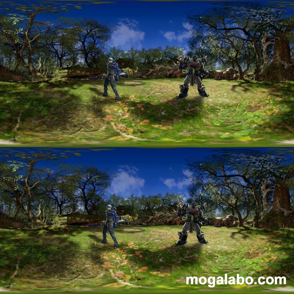 360°パノラマ写真(立体画像)