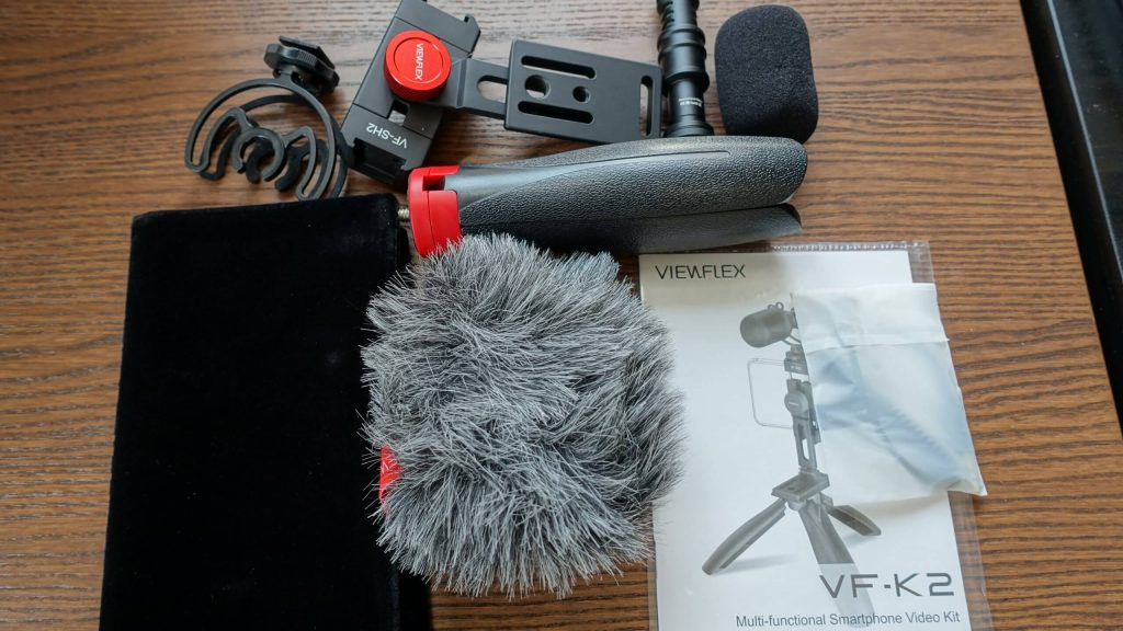 Viewflex VF-K2の同梱物