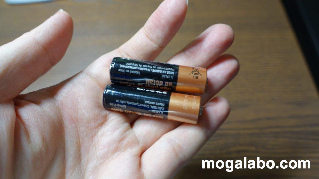 G603の単三電池