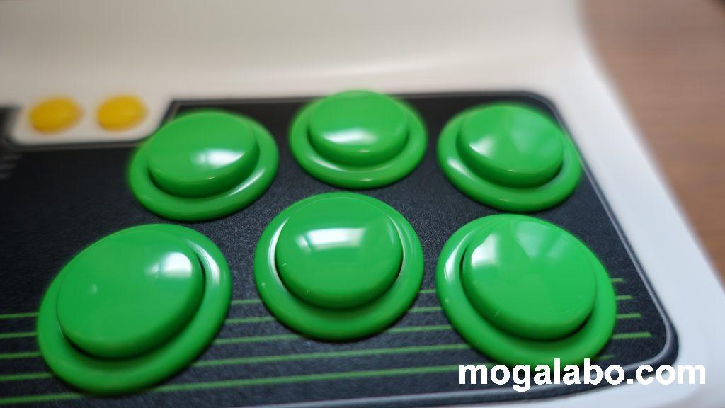 アストロシティミニのボタン