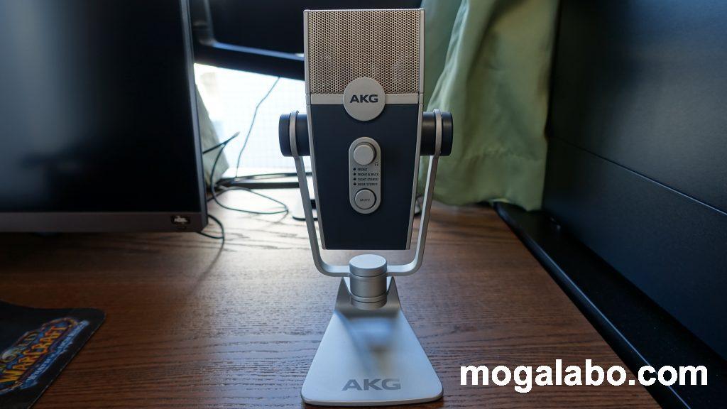 AKG Lyra-Y3の正面
