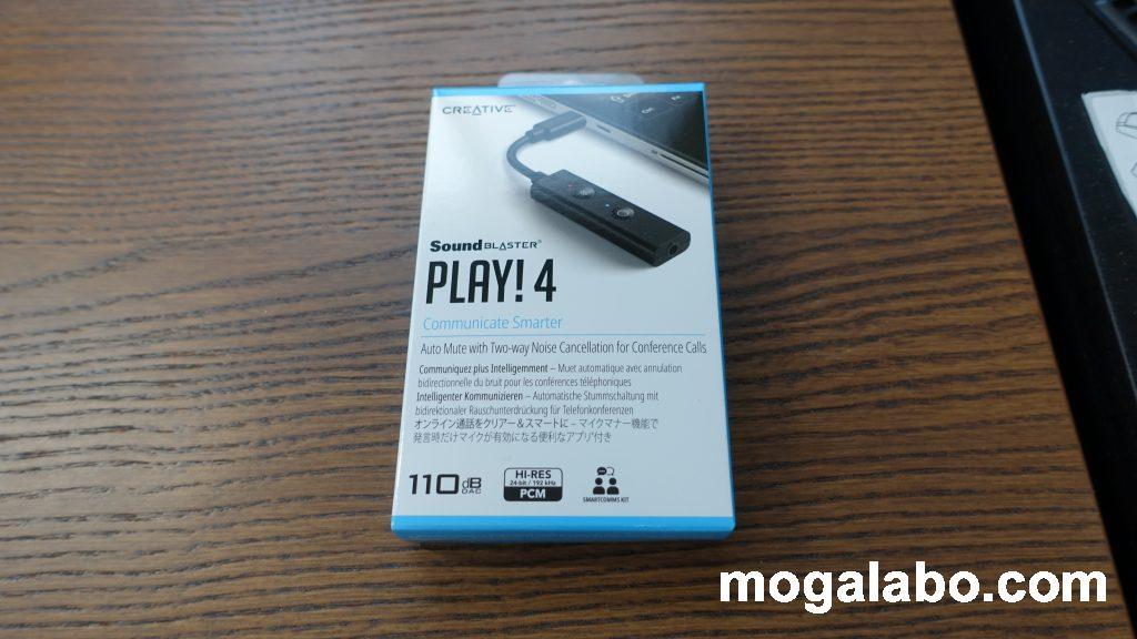 Sound Blaster Play! 4の開封、外観チェック
