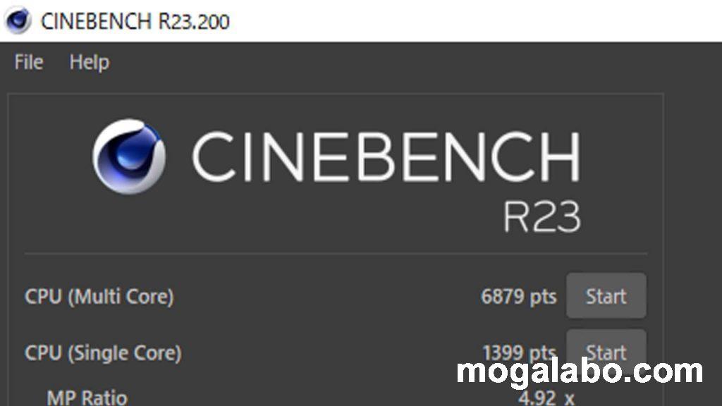Cinebench R23(PL65W制限)