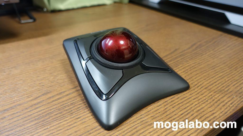手のひら操作タイプのトラックボールマウス